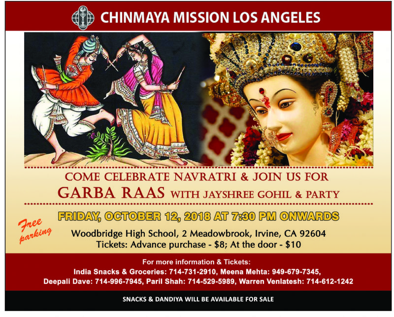 Navratri Raas Garba - Jayshree Gohil and Party