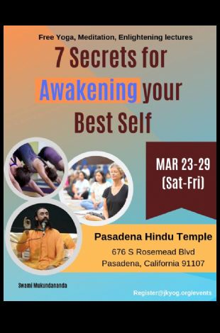 Spiritual Discourse on 7 Secrets for Awakening Your Best Self