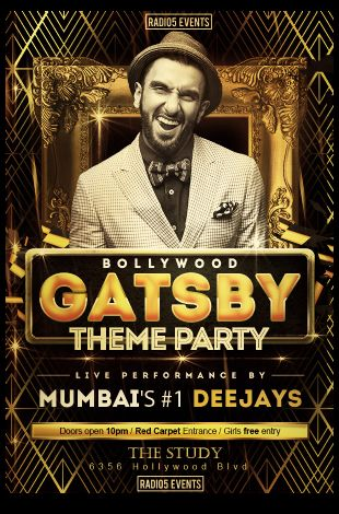 Bollywood Great Gatsby Party - Radio5 Events